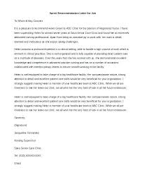 Letters Of Recommendation For Jobs Template Employee Job Recommendation Letter Davidhdz Co