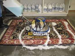 during persian rug cleaning washing