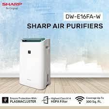 Review máy lọc không khí và hút ẩm Sharp DW-E16FA-W tốt không, giá bán -  NTDTT.com