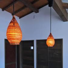 bedroom approach pendant lighting bamboo basket asian lighting
