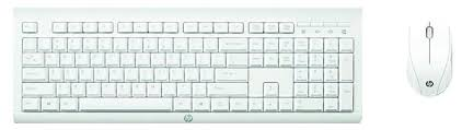 Клавиатура и мышь <b>HP M7P30AA C2710</b> White USB — купить по ...