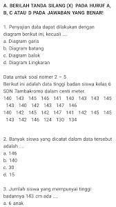 Kunci jawaban buku tematik senang belajar matematika kelas 4. Kumpulan Soal Dan Jawaban Bab 4 Mengolah Dan Menyajikan Data Mapel Matematika Kelas 6 Sd Dwi Purwanto