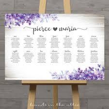 Royal Wedding Seating Chart 2018 Printable Wedding Seating Charts Floral Rustic String