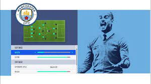 FIFA 19 MANCHSTER CITY PEP GUARDIOLA CUSTOM TACTICS AND GAMEPLAY HD -  YouTube