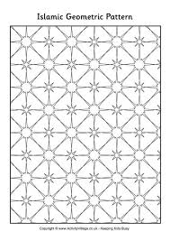Exclusive Idea Islamic Art Patterns To Colour Coloring Page Crayola
