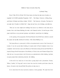 Write Reflective Essay Group Project | Reflection On Group Work Essay