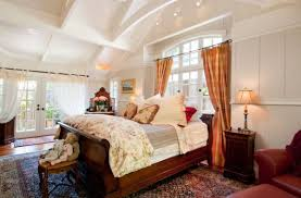View in gallery Classic bedroom with a beautiful ceiling and a fabulous sleigh  bed