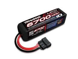 <b>Аккумулятор</b> 6700mAh 14.8v 4-Cell 25C LiPO <b>Battery</b> TRX iD Plug ...