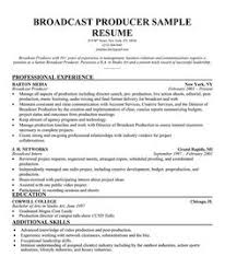 Production Resume Template Cool 48 Best PRODUCER Resume Images On Pinterest Sample Resume Resume
