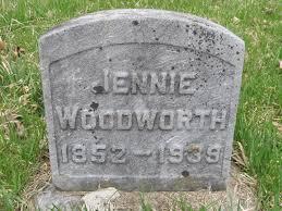 Jennie Robertson Woodworth (1852-1939) - Find A Grave Memorial