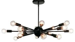 modern bronze chandelier sputnik chandelier oil rubbed bronze mid century modern black bronze chandelier with 6