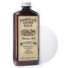 leather milk auto leather cleaner conditioner kit 2 formula car detailing set