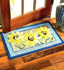 sunflower area rugs sunflower kitchen
