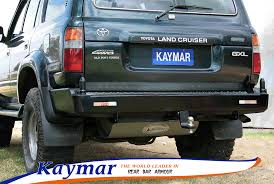 Kaymar Rear Bars, Spare Wheel Carriers, Jerrycan Holders ...