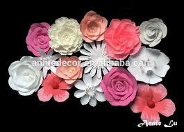 Hanging Paper Flower Backdrop Paper Flower Backdrop For Sale Paper Flowers Paper Flower Backdrop