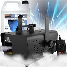 chauvet dj hurricane haze 1d dmx stage 700cfm haze machine inc remote 5l fluid