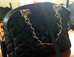 Photos Submitted by Mautto Customers Showing Handbags/Purses/Bags ... & Italian quilted handbag with new chain + leather weaved handles. Adamdwight.com
