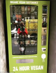 Vending Machines For Sale Vancouver Cool Organic Vegan Vending Machine Pops Up In Melbourne CBD Daily Mail