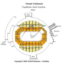 Crown Center Of Cumberland County Seating Chart Cheap Crown Coliseum The Crown Center Tickets