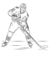 Patrick Kane Coloring Page Free Printable Coloring Pages
