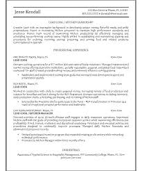 Cook Resume Objective Resume Cook Resume Cook Objective Sample Career Examples Line Chef 99