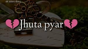 very sad heart touching shayari jhuta pyar status hindi love shayari videovideos by ak subscribers on dec 21 2018 0