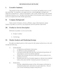 Market Summary Example Winning Marketing Plan Executive Summary ...