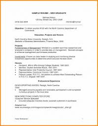 Recent Graduate Resume Objective Best of Objective For College Resume Sevte