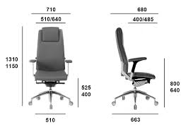 highback chair dimensions