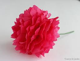 How To Make Flower Out Of Tissue Paper How To Make Flowers Out Of Colored Tissue Paper Street Escape