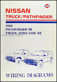 for a nissan truck wiring diagram complete wiring diagrams • 1988 nissan truck and pathfinder wiring diagram manual original rh faxonautoliterature com nissan wiring harness diagram 1984 nissan pick up wiring diagram