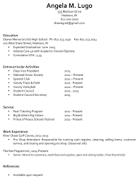 Sample Resume For College Students Best Of Sample Student Resumes Sample Resume For College Student With Little