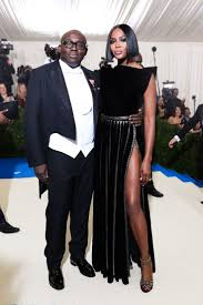 Edward Enninful in Burberry and Naomi Campbell in Azzedine Alaa Met Gala  2017 Red Carpet Live: All the Celebrity Dresses and Fashion