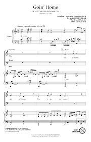 legend of zelda piano sheet music goin home sheet music direct
