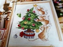 Christmas Tree Cross Stitch Chart Cross Stitch Chart Christmas Tree Margaret Sherry Mice