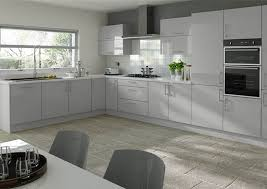 Ultragloss Light Grey Kitchen Doors From 550 Made To Measure Grey Kitchen