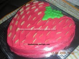 Simple Homemade Strawberry Cake