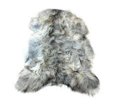 gray sheepskin rug natural gray sheepskin pelt grey sheepskin rug gray sheepskin rug costco