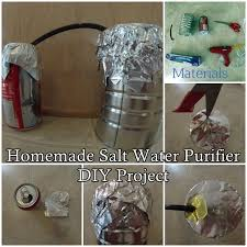 homemade water purifier. This Step By Tutorial Of How To Make A Homemade Salt Water Purifier DIY Project Is Essential Creating Clean Safe Drinkable Water.