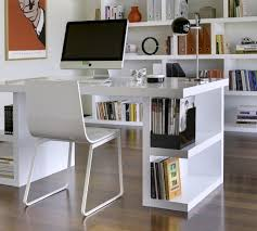 modern home office featuring glossy white. 89 remarkable modern home office desk design featuring glossy white wegoracing