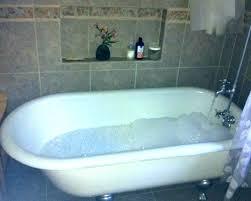 bathtub jet spa bath air jets chromed