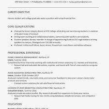 2063173v1e Graduate Resume Recent Summary Examples Template Word