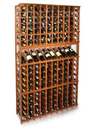 a vint 10 column classic wine rack at 77 5 inches tall with a high reveal