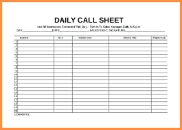 Daily Call Sheet Template Call Sheets Template Agarvain Org