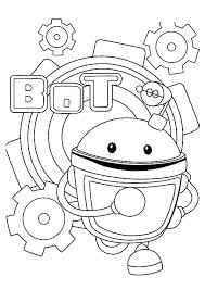 Small Picture Team umizoomi coloring pages geo bot milli ColoringStar