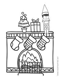 125+ of the best elf on a shelf activities, coloring pages, printables, make your own elf, more! Free Elf On The Shelf Coloring Pages The Inspiration Board