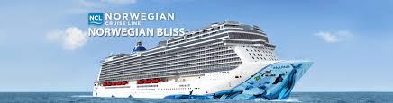 norwegian cruise line norwegian bliss cruise ship