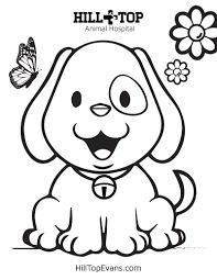 Use these lovely year of the dog colouring sheets on the topic of chinese new year. Kids Coloring Pages Hill Top Animal Hospital