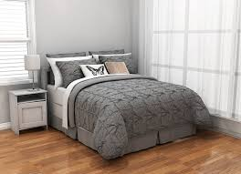 com republic knotted squares duvet cover king grey home kitchen