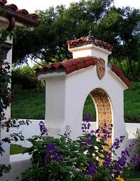 Small Picture Santa Barbara style Spanish home Courtyard Gardens